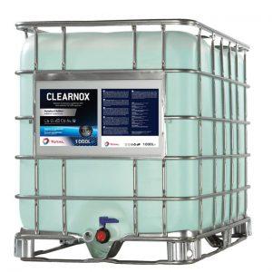 CLEARNOX® forebygger dannelsen af krystaller og aflejringer i SCR systemet, g reducerer dermed risikoen for tilstopning af systemet.
